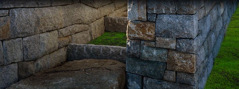 Custom Stone walls